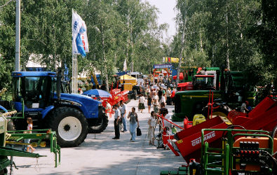 Representatives of the agricultural and food industry saw DoorHan products at AgroOmsk-2018