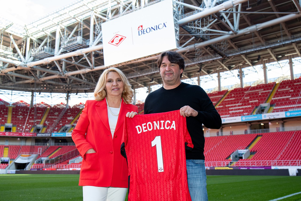 Arnest and Football Club Spartak Moscow enter into sponsorship agreement